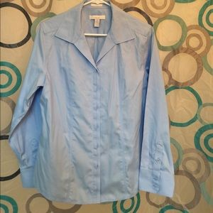 Chico's Tops - Chico's top no iron long sleeves button up nice M