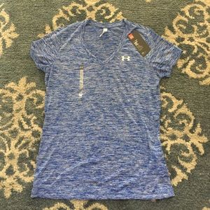 Under Armour Women's Heatgear Loose Fit Tee, Med