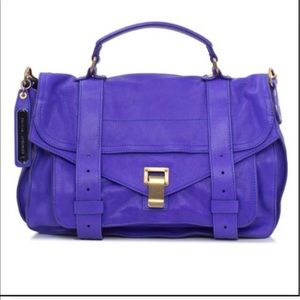 Proenza Schouler medium PS1 purple bag