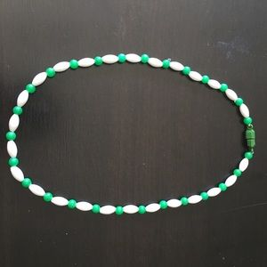 Other - Green and White Necklace