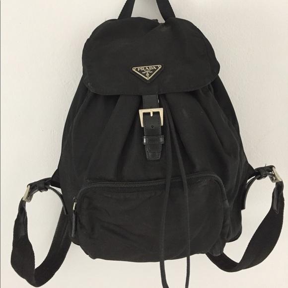 093434ea32b201 Prada Vela Backpack - size Medium. M_58f503e9eaf030f86d11f3a1
