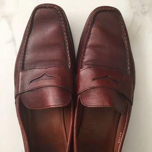 Allen Edmonds Vincent Leather Penny Loafers