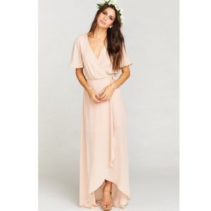 Show Me Your MuMu Dresses & Skirts - NWOT show me your mumu Sophia dusty blush