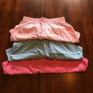 Soffe Pants - BUNDLE of 3 soffe shorts
