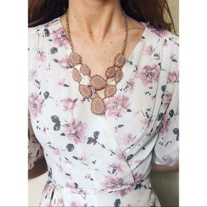 Jewelry - Blush Statement Necklace