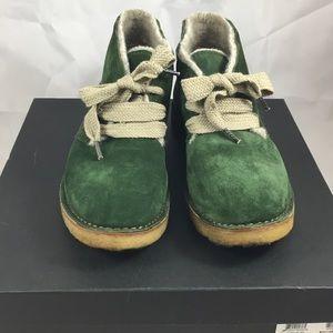 Barneys New York CO-OP Shoes - Barneys New York Co-op Green Chukka Boot