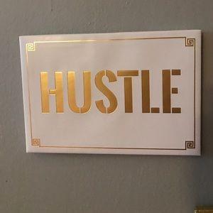 Hustle artwork for wall