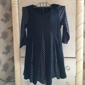 Reborn sweater dress/Top with pockets size xl