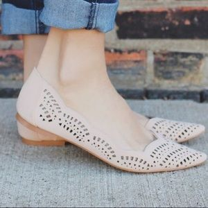 Ballerina Cut Out Flats