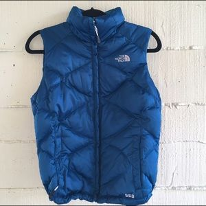 North Face Jackets & Blazers - Blue North Face Vest