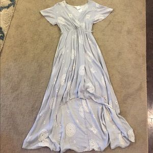 Boheme Dresses & Skirts - New with tags light gray bohemian dress