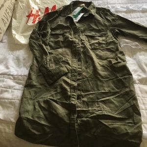 hm-moden Tops - Army Green tunic