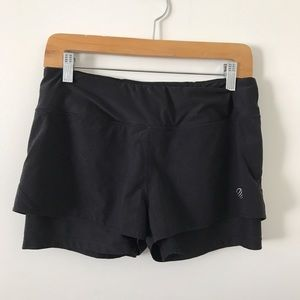 MPG black running workout shorts