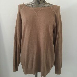 EUC Old Navy Brown Long-Sleeved Knit Sweater
