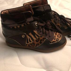 Michael Kors wedged sneakers