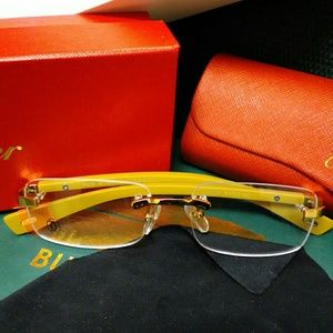 Cartier Other - Cartier clear lens glasses