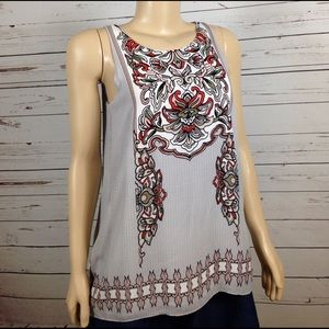 Max & Co. Tops - NWT Max Edition sleeveless lined print blouse sz S