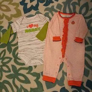 Absorba Other - EUC Halloween Baby Bundle 3-6M