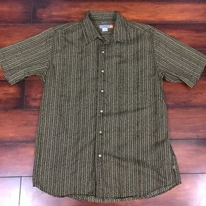 Men's Quiksilver Button Down Shirt