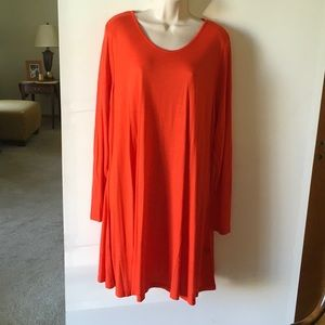 Simply Be Dresses & Skirts - Simply Be orangish red dress.