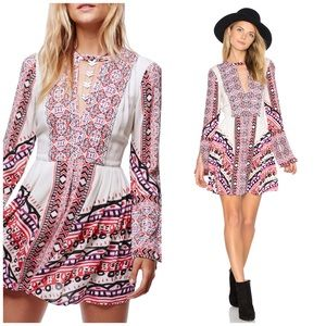 Free People Dresses & Skirts - NWT Free People Pink Boho Swing Dress