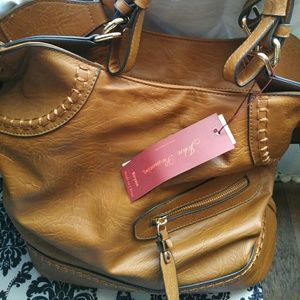 John Romaine Handbags - NWT. Deep Shoulder Bag by John Romaine