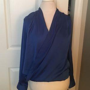 Very J Tops - Beautiful royal blue blouse