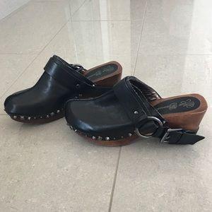 Matt Bernson Shoes - Matt Bernson black studded clogs