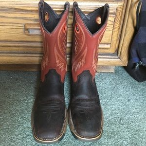 Rocky Shoes - Women's Rocky Cowboy Boots, mid-calf, size 7