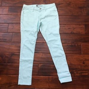 Mossimo Jeans Mint Skinny Jeans NWOT