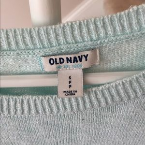 Old Navy Sweaters - Mint Old Navy 3/4 sleeve sweater