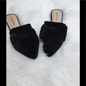 city classified Shoes - ❗️5 ⭐️ Black Bow Mule Flat
