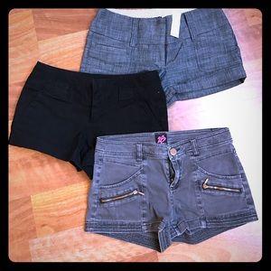 Bebe Shorts Bundle 