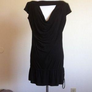 Akiko Dresses & Skirts - Akiko Very Sexy Little Black Jersey Minidress