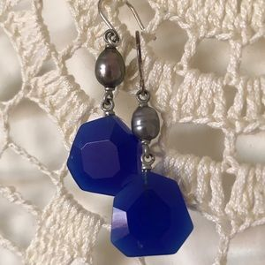 Kenneth Cole Reaction Jewelry - Kenneth Cole Reaction earrings in blue