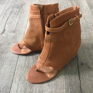 80%20 Shoes - 80/20 tan summer heel sandals
