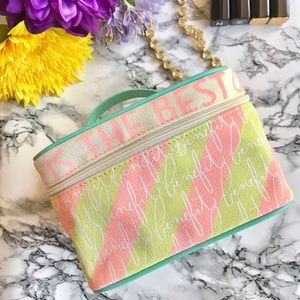 Benefit Handbags - 💕 Benefit 💕Collectors Linen Cosmetic Bag 🌷🎉
