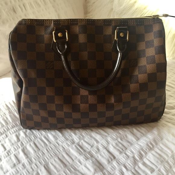 Louis Vuitton Handbags - LV Damier Ebene Speedy 30 4c44d991f0196