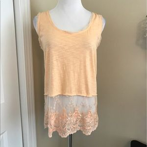 Threads 4 Thought Tops - NWOT, Threads 4 Thought, Peach Sleeveless Top!!