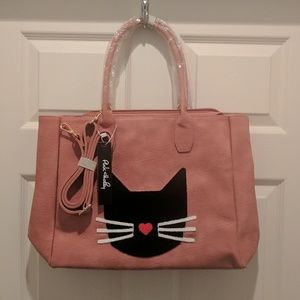 Pink Haley Handbags - IN STOCK - NEW large pink cat tote!!!