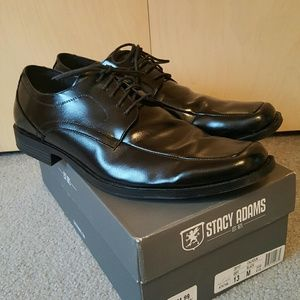 Stacy Adams Other - WORN ONLY 2 HOURS! Men's Black Dress Shoes