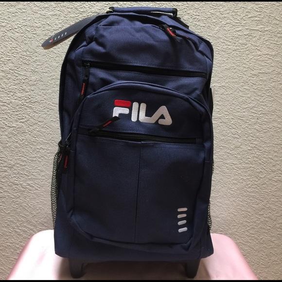 c617258a1d NWT  Fila  Trolley Backpack