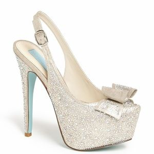 Betsey Johnson Shoes - Blue by Betsy Johnson Toast Pump