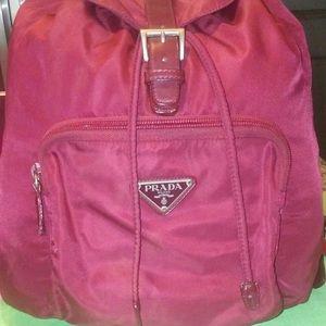 Prada Pink Backpack