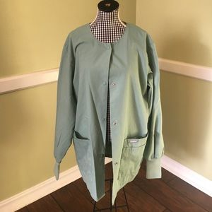 Landau Tops - SET! XS scrub top and jacket BUNDLE by Landau