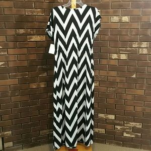 af3e16abe85b6 swimsuits for all Swim - Chevron swim cover up or dress 70077