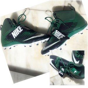 Green Black Force Lunarbeast Nike Cleats Men's 12
