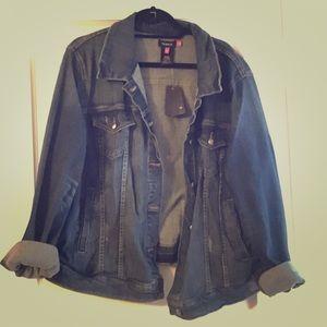 torrid Jackets & Blazers - Plus size blue jean jacket. Torrid size 3