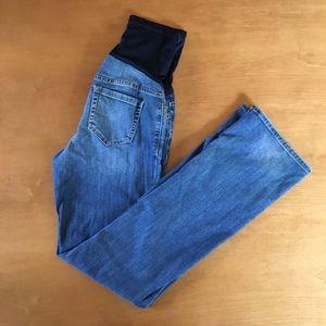 Liz Lange for Target Denim - Liz Lange maternity jeans over the belly waist