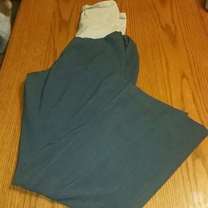 Motherhood Pants - Grey, Size Large, Maternity dress pants
